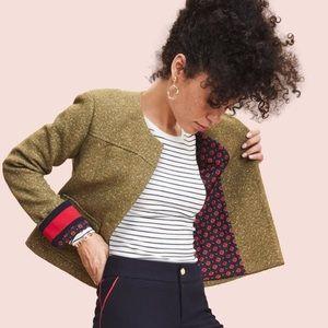Olive Tweed Jacket
